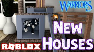 ROBLOX [BETA] Warrior Cats: Ultimate Edition! New HOUSES! Update! JUMPING Animation and Running!