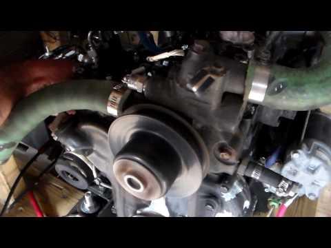 Yanmar / Ford G1 Generator Fuel test @ 3500 Watts  + Various Temp Tests