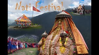 Nati Festival - Traditional Folk Dance of Himachal Pradesh, India.