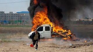 Как сжечь автомобиль и пойти работать на завод!