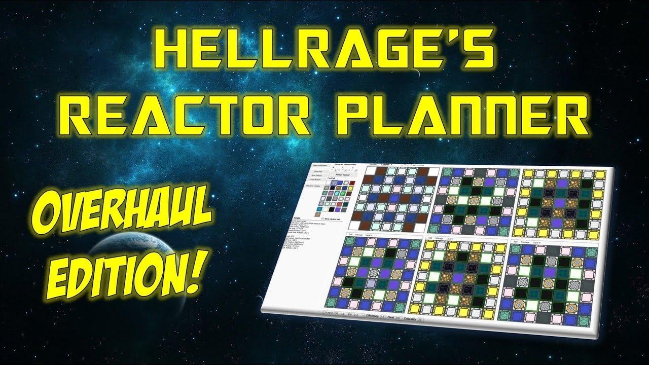 NuclearCraft Tutorial - Hellrage's Overhaul Reactor Planner [Future  Content!]