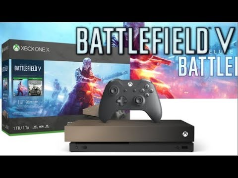 bb503ad2725 Battlefield 5 Gold Rush Xbox One X Bundle Revealed! - YouTube