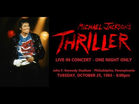 Michael Jackson's Thriller: Live in Concert 1983 - One Night Only (Full Fanmade Concert)