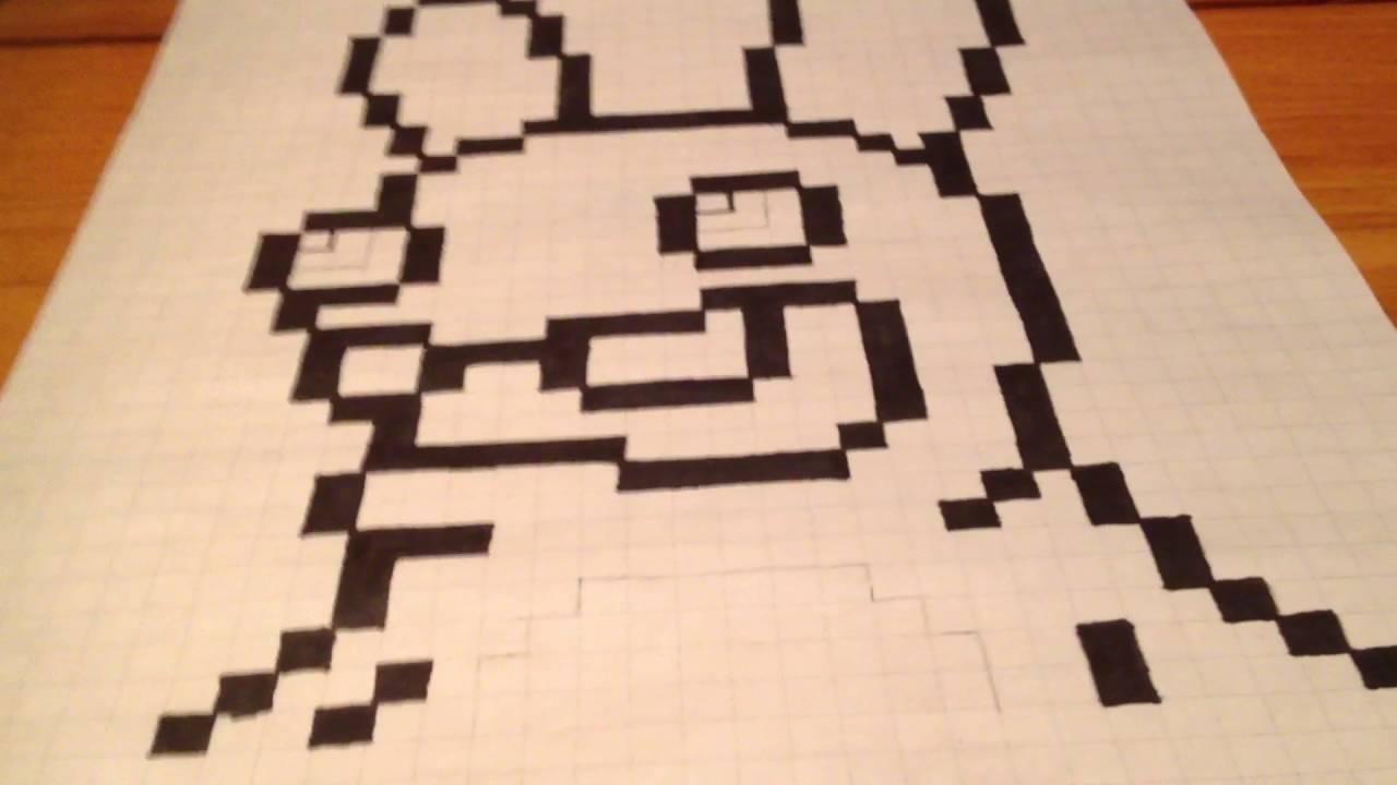 Pixel Art Lapin Crétin Deuxième Partie Youtube