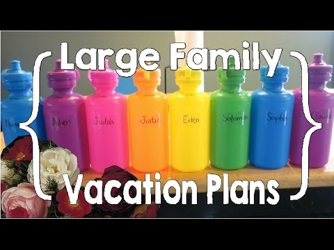 Vacation Planning (Large Family Organization / Travel)