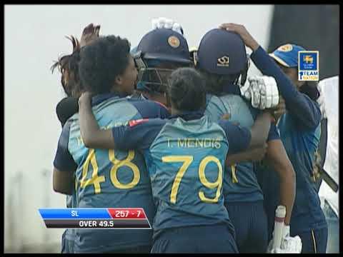 Need 6 runs from 6 balls: Sri Lanka Womens beat India Women in a thriller Mp3