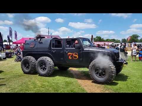 Steam Powered Jeep JK 6x6!