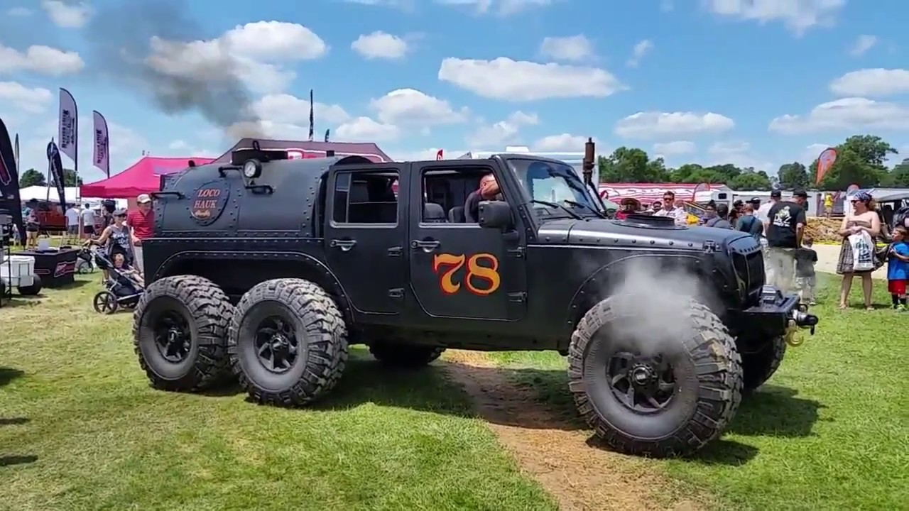 Steam Powered Jeep Jk 6x6 Youtube