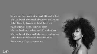Alicia Keys - Holy War (Lyrics)
