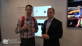 CES 2017 - Samsung No Gap Wall Mount and Invisible Connection