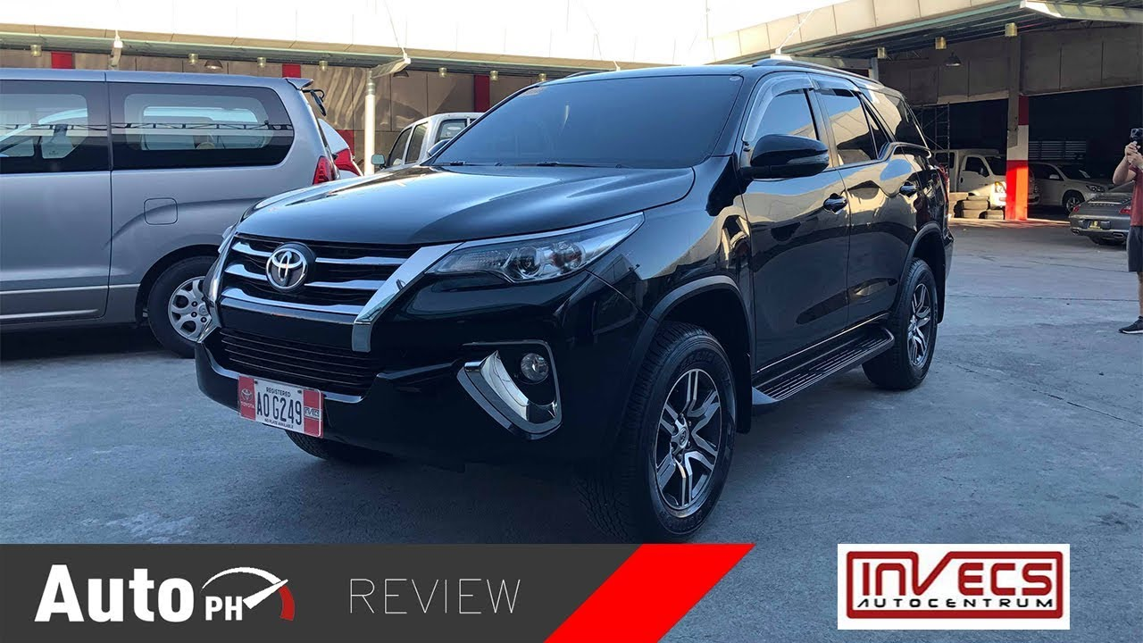 2017 Toyota Fortuner 2 4g 4x2 Used Car Review Philippines