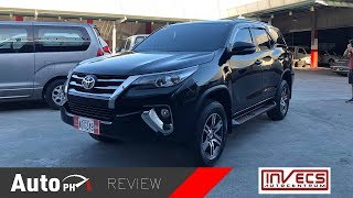 2017 Toyota Fortuner 2.4G 4X2 - Used Car Review (Philippines)