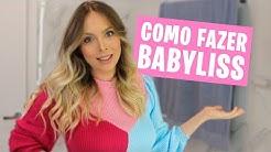 COMO EU FAÇO BABYLISS - ONDAS NO CABELO