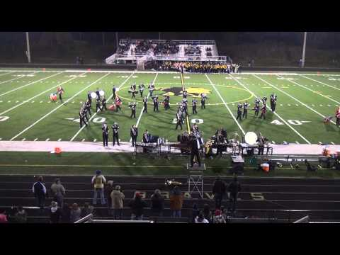 Fairview High School Marching Band - October 12 2012