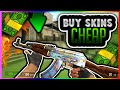 CSGO - HOW TO BUY SKINS CHEAP!! I WANT AN ALL BLUE CASE HARDENED! (CS GO AK47 Case Hardened Tradeup)