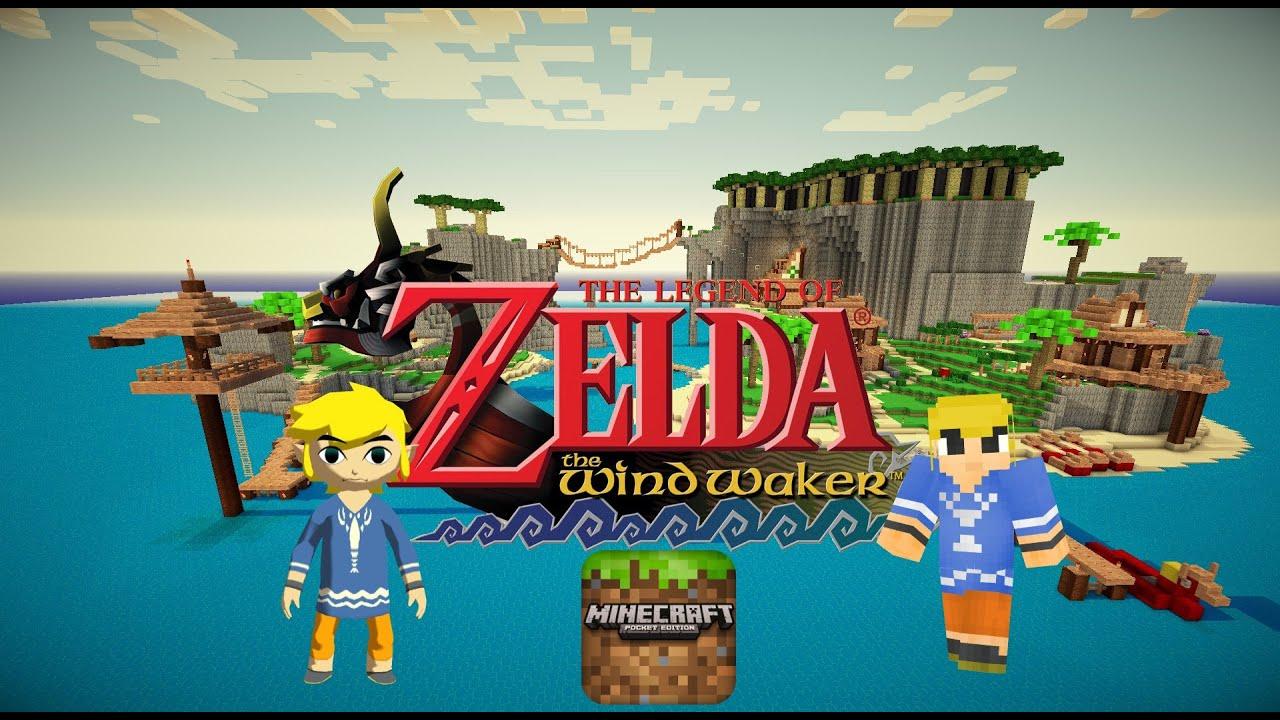 Outset Island From The Legend of Zelda Wind Waker In Minecraft PE ...