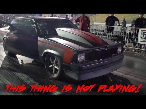 THIS THING IS A BEAST!! INSANE MALIBU AT MIKE HILL'S NIGHT OF FIRE