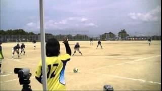 児島マーリンズ VS 広島ドリーマーズ  平成26全国フットベースボール大会 決勝
