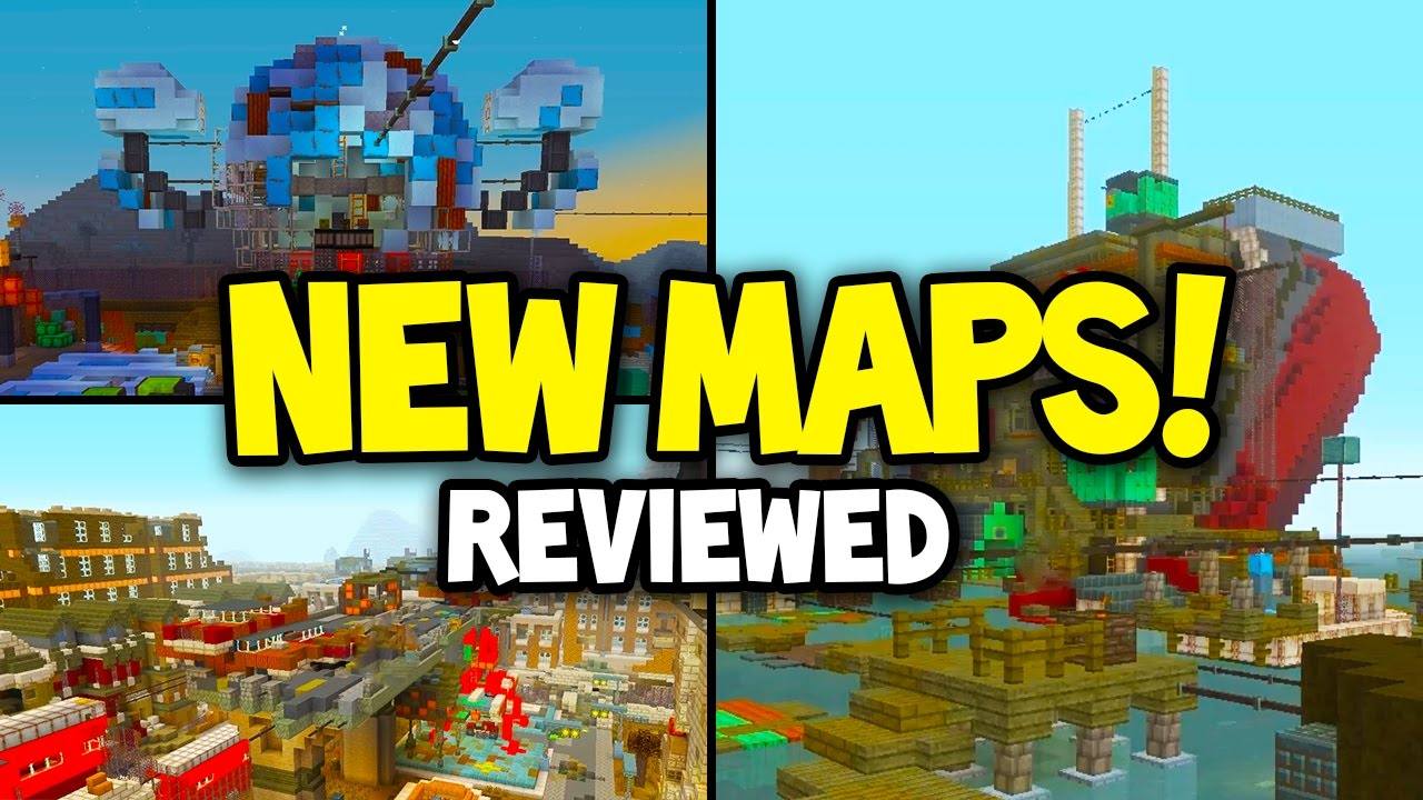 Minecraft Xbox TU UPDATE NEW MAPS REVIEWED Fallout Map Pack - Minecraft us capitol map