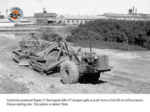 Classic Machines : LeTourneau's Model C Tournapull