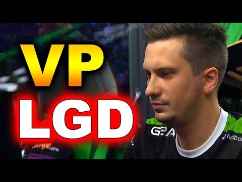VP Vs PSG.LGD - CRAZY GAME! #TI8 MAIN - THE INTERNATIONAL 2018 DOTA 2