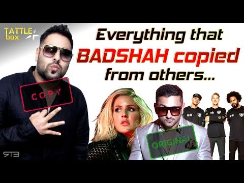Badshah copied Yo Yo Honey Singh and other musicians with proof | Credits: TattleBox
