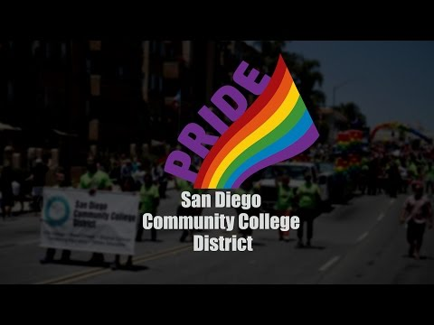 The SDCCD - 2016 San Diego Pride Parade