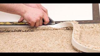 видео Методы крепления ковролина