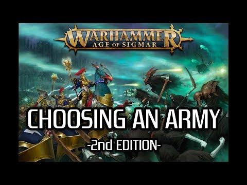 Choosing an AoS Army - 2nd Edition
