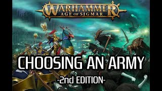 *OUTDATED* Choosing an AoS Army v2