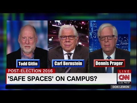 Trump Supporters on Campus want 'Safe Spaces' - Dennis Prager