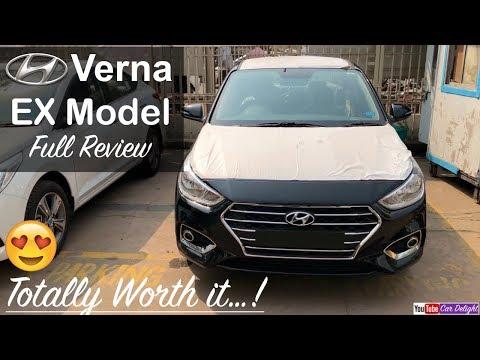 Hyundai Verna 2017 EX Model Interior,Exterior,Music System Full Review and Walkaround