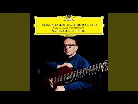 J.S. Bach: Prelude In C Minor, BWV 999 (Arr. For Guitar By Narciso Yepes)
