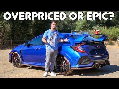 2017 Civic Type R Review: A $60,000 HONDA CIVIC?!