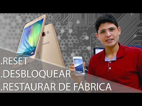 Como Formatar Samsung Galaxy A3 SM-A300, A5 SM-A500, A7 SM-A700 || Desbloquear, Hard Reset G-Tech
