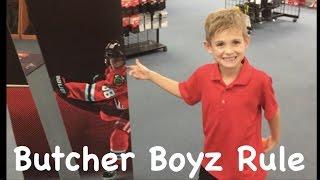 KIDS Hockey Shopping for new hockey stick
