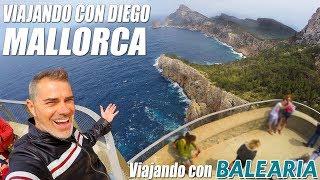 Mallorca con Baleària - Viajando con Diego