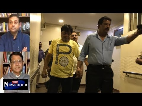 Iqbal Kaskar Arrest - Will Cops Disclose Political Link With D-Company?   The Newshour Debate