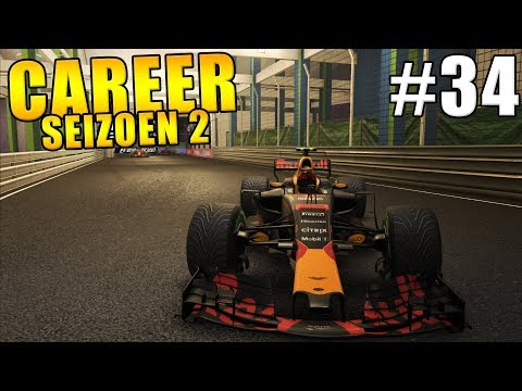 F1 2017 Dutch Career Mode Deel 34: DOMINEREN IN SINGAPORE?!