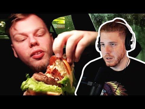 Unge REAGIERT auf McDonalds Burger Test von Tanzverbot! | #ungeklickt