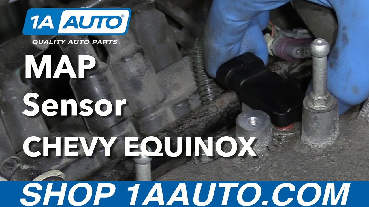 how to replace map sensor 05 09 chevy equinox [ 1280 x 720 Pixel ]