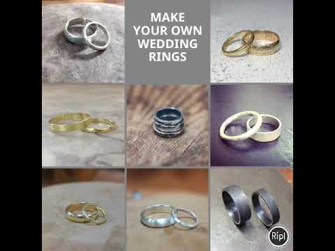 Make Your Wedding Rings in your own style and design with Elizabeth Anne Norris