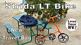 New Travel Bag For My Strida Folding Bike