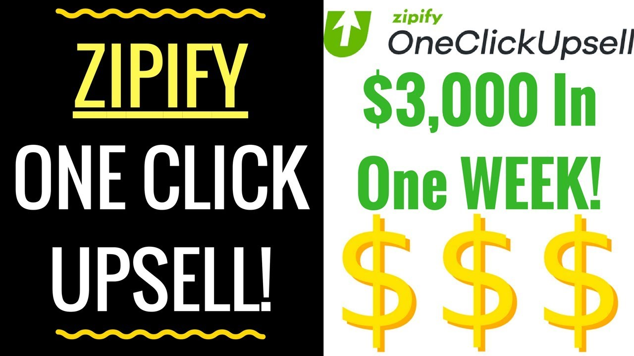 Zipify One Click Upsell Review & Tutorial - Shopify Sales Funnel and Upsell App! Bonus Inside!