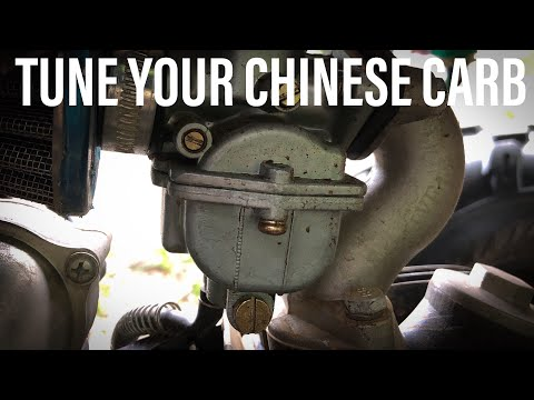 Tune Your Chinese ATV Carb