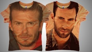Photoshop Tutorial: Put a Portrait on T-Shirt