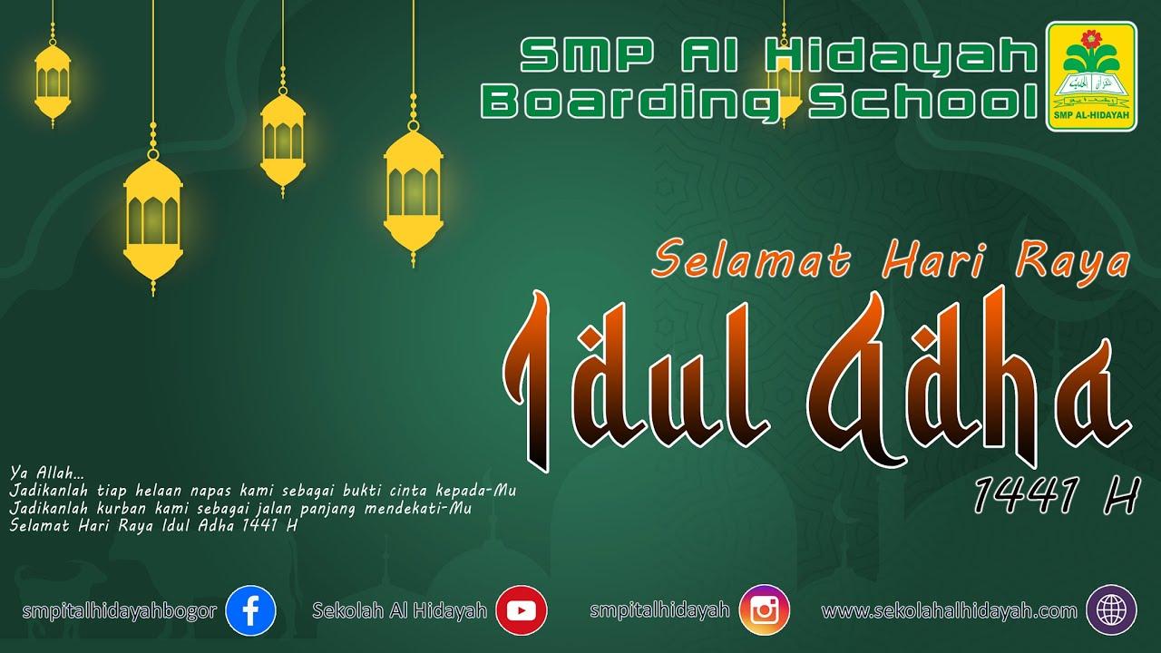 Selamat Hari Raya Idul Adha 1441 Hijriyah Youtube