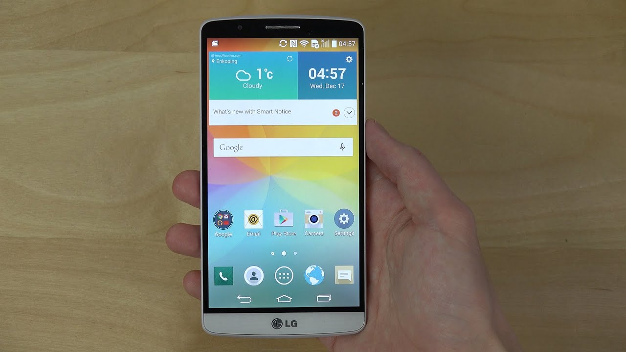 LG G3 Official Android 5.0 Lollipop - Review (4K)