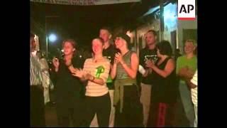 EL SALVADOR: NEJAPA: ANNUAL FIRE BALL WAR FESTIVAL
