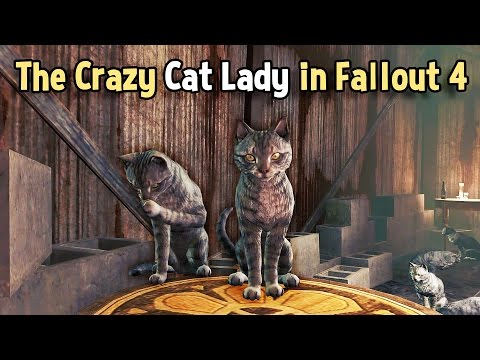 The Crazy Cat Lady in Fallout 4 — Xtra Kredit on the Skooled Zone |